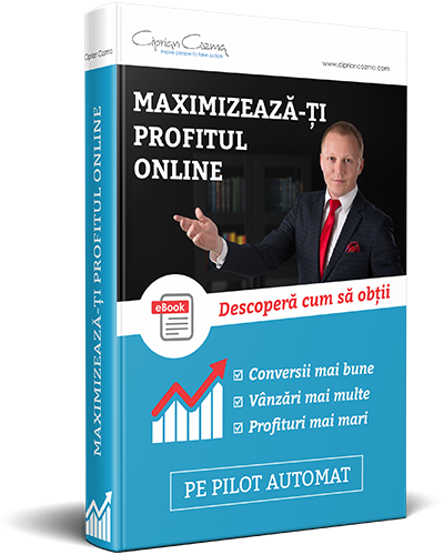 ebook - Maximizeaza-ti Profitul Online - Ciprian Cozma
